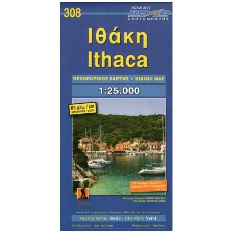 ORAMA 308 Ithaca 1:25 000 turistická mapa