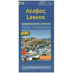 ORAMA 212 Lesvos/Lesbos 1:80 000 turistická mapa