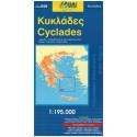 ORAMA 059 Cyclades/Kyklady 1:195 000 automapa