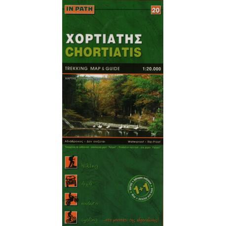 ORAMA 406 Kréta Mt. Thriptis, Mt. Orno, Sitia, Zakros, Vai 1:50 000 turistická mapa