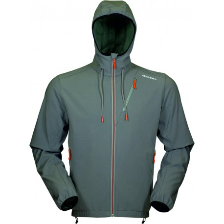 High Point Venus Hoody Jacket grey pánská softshellová bunda Softshell Double Action