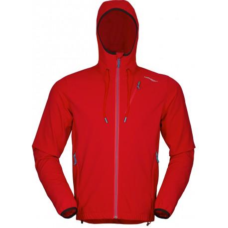 High Point Venus Hoody Jacket red pánská softshellová bunda Softshell Double Action