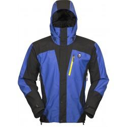 High Point Thunder blue/black pánská nepromokavá bunda BlocVent 2L DWR