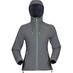 High Point Venus Hoody Jacket grey dámská softshellová bunda Softshell Double Action