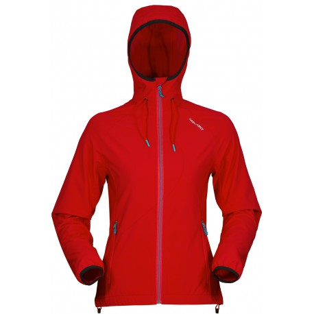 High Point Venus Lady Hoody Jacket red dámská softshellová bunda Softshell Double Action