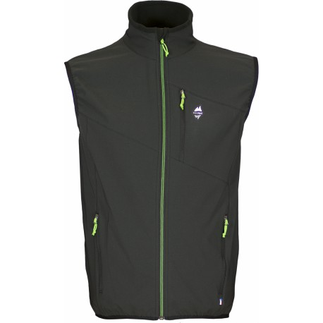 High Point Venus Vest black pánská softshellová vesta Softshell Double Action