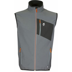 High Point Venus Vest grey pánská softshellová vesta Softshell Double Action