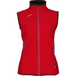 High Point Venus Lady Vest red dámská softshellová vesta Softshell Double Action