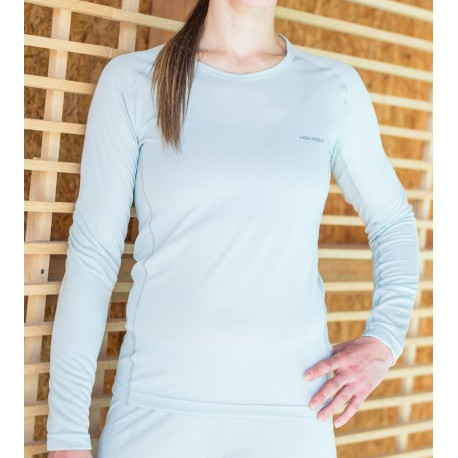 High Point Code LS Lady lunar grey dámské triko dlouhý rukáv