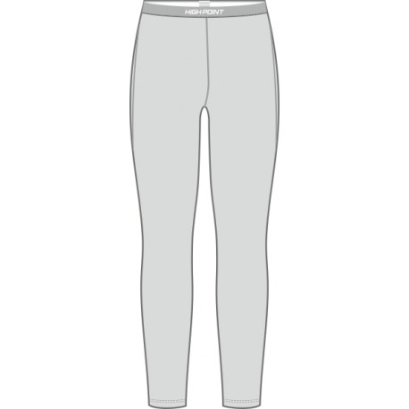 High Point Code Leggins Lady lunar grey dámské spodky dlouhá nohavice Polartec Power Dry