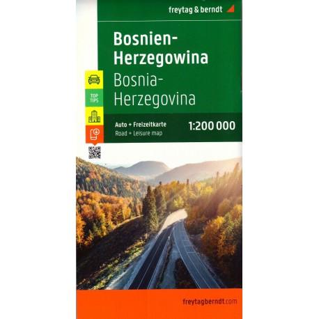 Freytag a Berndt Bosna a Hercegovina 1:200 000 automapa