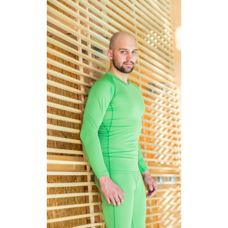 High Point Code LS Man green way pánské triko dlouhý rukáv (1)