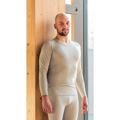 High Point Code LS Man lunar grey pánské triko dlouhý rukáv (1) (2)