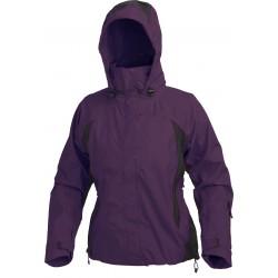 High Point Sally violet/black dámská nepromokavá bunda BlocVent 2L SDWR