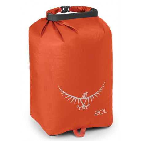 Osprey Ultralight Dry Sack 20 poppy orange vodotěsný obal//loďák