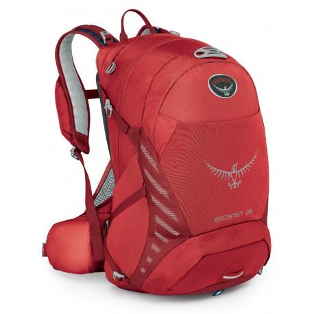 Osprey Escapist 25 M/L cayenne red cykloturistický batoh