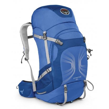 Osprey Stratos 50 M/L harbour blue turistický batoh