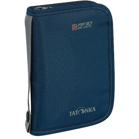 Tatonka Travel Zip M RFID B tmavě modrá peněženka