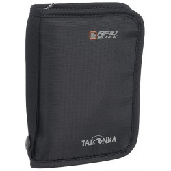 Tatonka Travel Zip M RFID B black peněženka/cestovní pouzdro na doklady