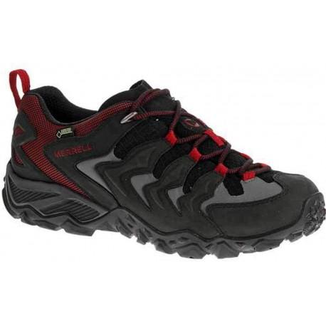 Merrell Chameleon Shift Ventilator GTX black/red 65007 pánské nízké nepromokavé kožené bot