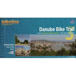 Bikeline Danube Bike Trail 3/Dunajská cyklostezka 3 1:75 000 cykloprůvodce