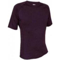 Jitex Kamad 902 TES tmavě fialová pánské triko krátký rukáv Merino vlna