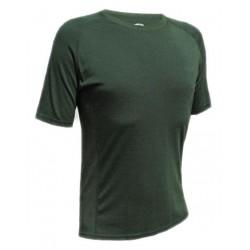 Jitex BoCo Kamad 902 TES tmavě zelená pánské triko krátký rukáv Merino vlna