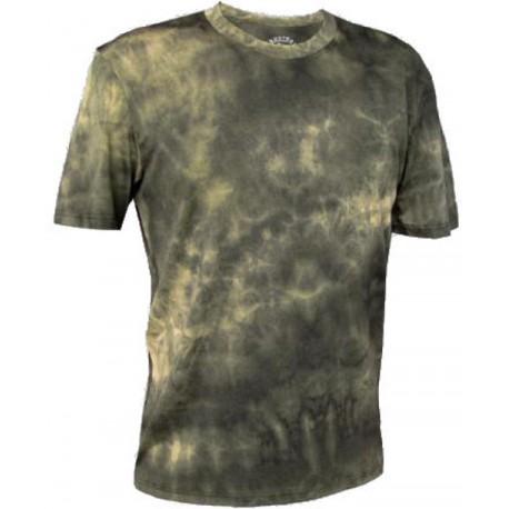 Jitex BoCo Kadat 901 TSX hnědá/khaki pánské triko krátký rukáv Merino vlna
