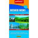 Galileos Beskid Niski/Nízké Beskydy 1:50 000 turistická mapa
