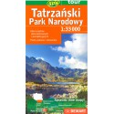DEMART Tatrzański Park Narodowy/Tatranský NP 1:33 000 turistická mapa