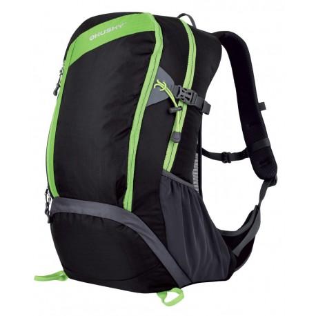 Husky Scampy 35 New černá/zelená turistický batoh