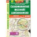 SHOCart 454 Českomoravské mezihoří, Lanškrounsko 1:40 000 turistická mapa