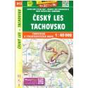 SHOCart 413 Český les, Tachovsko 1:40 000 turistická mapa