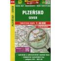 SHOCart 414 Plzeňsko sever 1:40 000 turistická mapa