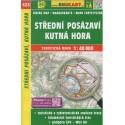 SHOCart 423 Střední posázaví, Kutná Hora 1:40 000 turistická mapa
