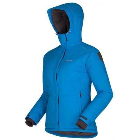 Husky Dembie modrá dámská zimní péřová bunda