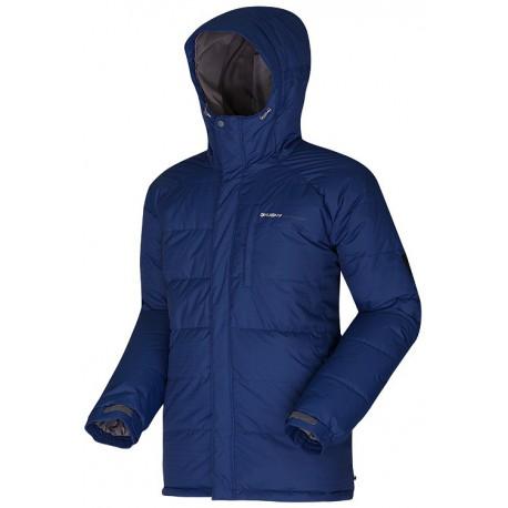 Husky Dember modrá pánská zimní péřová bunda
