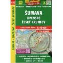 SHOCart 436 Šumava, Lipensko, Český Krumlov 1:40 000 turistická mapa