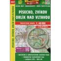 SHOCart 437 Písecko, Zvíkov, Orlík nad Vltavou 1:40 000 turistická mapa