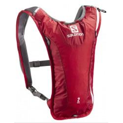 Salomon Agile 2 2 Set bright red/white 380037 běžecký batoh + vodní vak