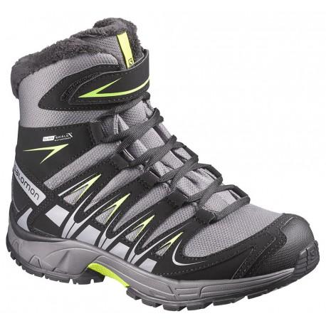 Salomon XA Pro 3D Winter TS CSWP J detroit/black 376096 dětské zimní nepromokavé boty