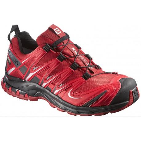 Salomon XA Pro 3D GTX flea/bright red 375933 pánské nepromokavé běžecké boty