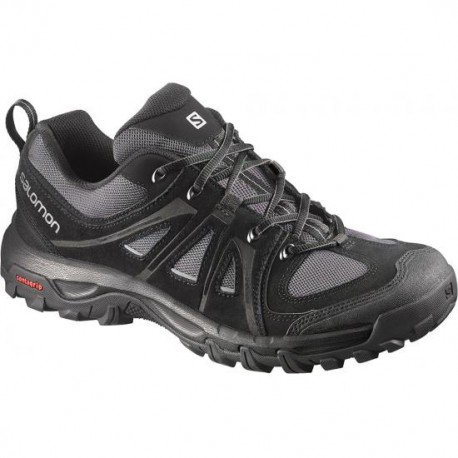 Salomon Evasion Aero black/pewter 376883 pánské nízké prodyšné boty
