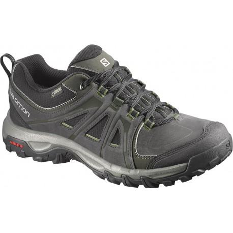 Salomon Evasion GTX asphalt/genepi-x 376901 pánské nízké nepromokavé boty