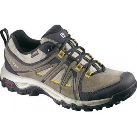 Salomon Evasion GTX swamp/bee-x 376907 pánské nízké nepromokavé boty