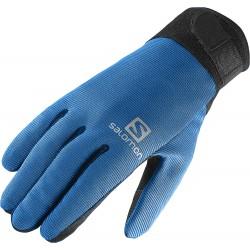 Salomon Discovery Glove M black/union blue 366100 pánské lyžařské rukavice
