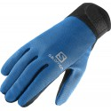 Salomon Discovery Glove M black/union blue 366100 pánské softshellové rukavice