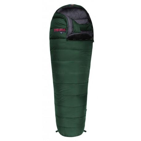 Prima Arctic 1000 220 zelená zimní péřový spací pytel (1)