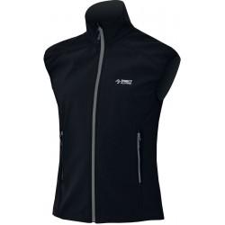 Direct Alpine Lizzard 5.0 black/grey pánská softshellová vesta Soft Shell 4way Tex