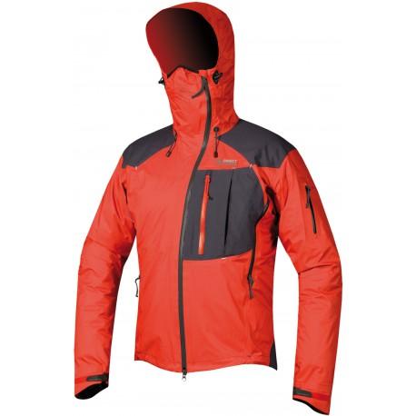 Direct Alpine Guide 5.0 red/anthracite pánská nepromokavá bunda Gelanots HB 3L